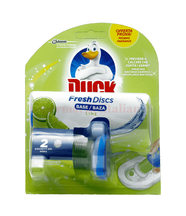 Duck fresh discs lime front