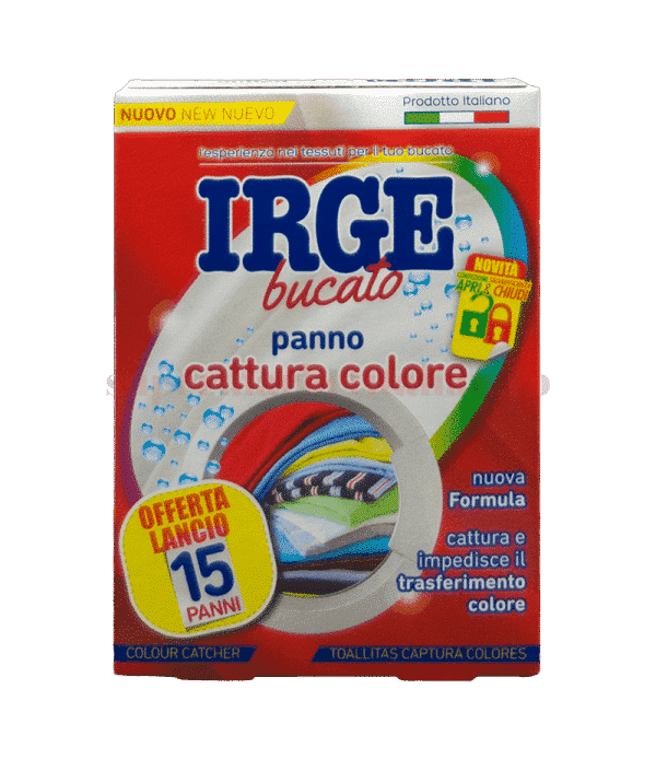 IRGE bucato panino cottura colore front