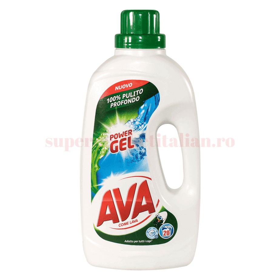ava detergent power gel