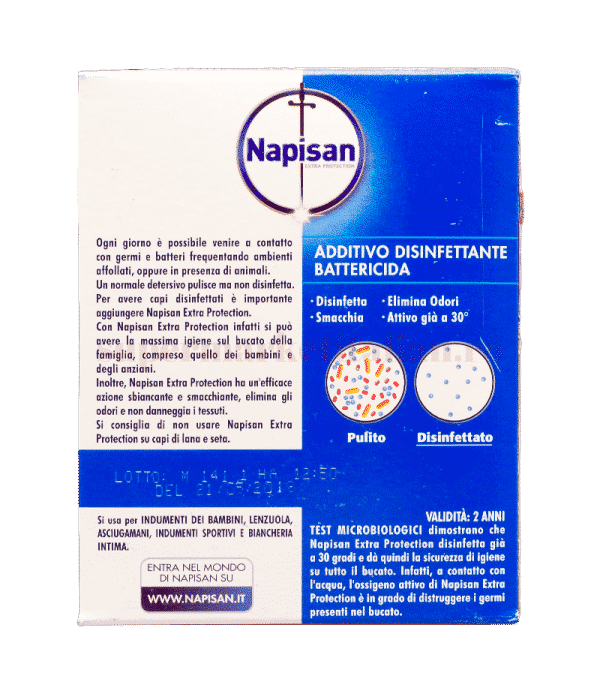 napisan extra protection 3xAzione Battericida back