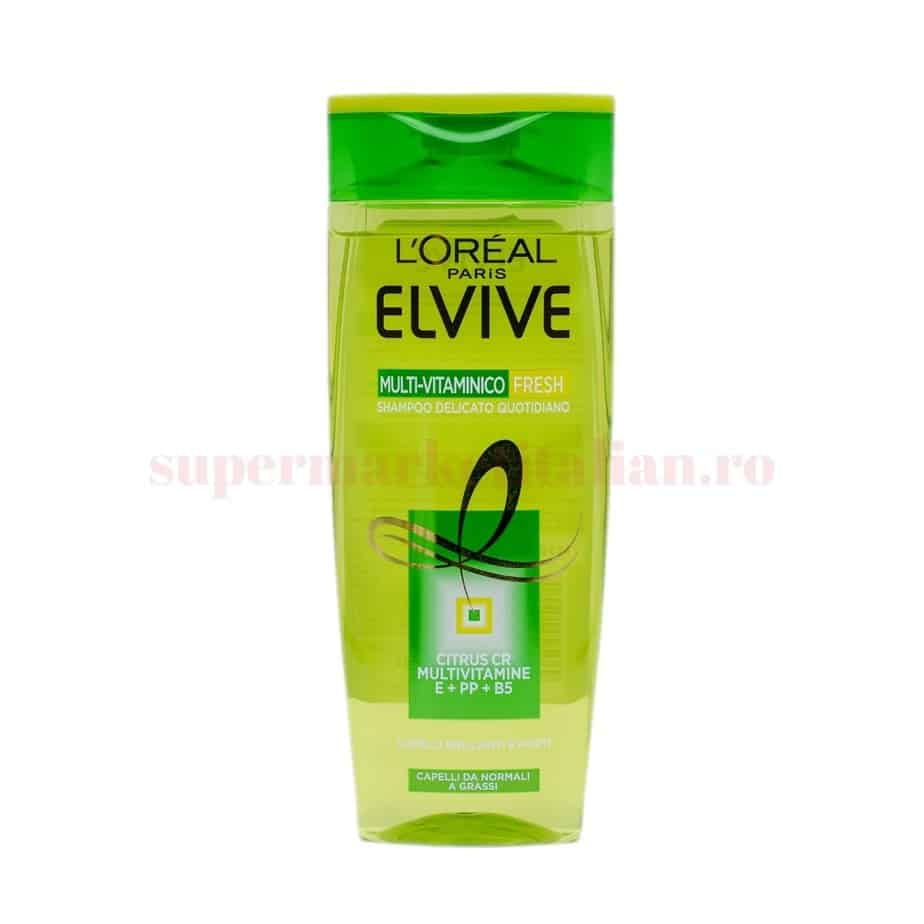 Sampon Loreal Elvive Multi Vitaminico Fresh 1