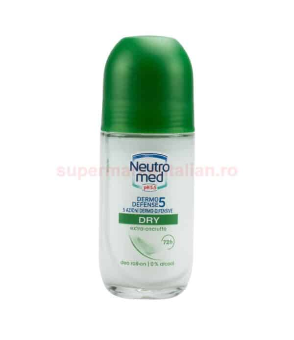 Deodorant Roll on Neutromed Dry 50 ml 8015700156874 1